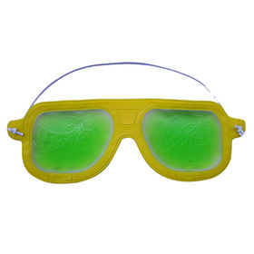 Gel filled EVA cooling eye mask from Hot and Cold Products Co. Ltd