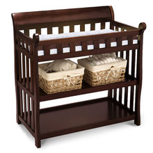 2016 hot sale wooden baby's changing table W08C118C