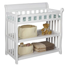2016 most popular wooden baby's changing table W08C118A