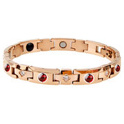 Stainless steel garnet bracelet from China (mainland)