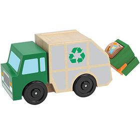2016 most popular wooden small garbage truck from China (mainland)
