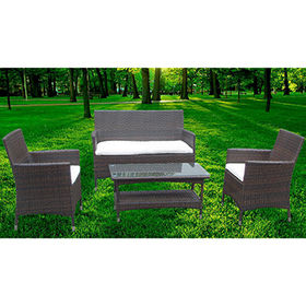 China 4-piece wicker sofa set