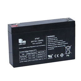 6V7Ah solar deep-cycle rechargeable VRLA battery from China (mainland)