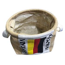 Jute storage basket from China (mainland)