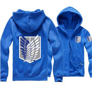 Attack On Titan Anime Survey Legion Hooded Sweatsh from China (mainland)