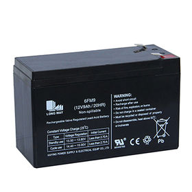 12V/9Ah High Rate Lead-acid Battery from China (mainland)