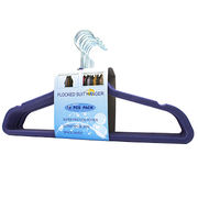 Velvet plastic multifunction clothes hanger from China (mainland)