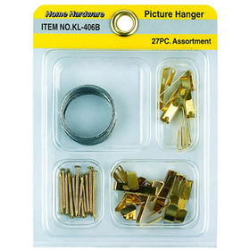 27Pcs Picture Hanger Kits from China (mainland)