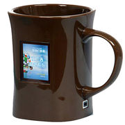 China Digital photo frame mug