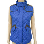 Women's Quilted Vest from China (mainland)