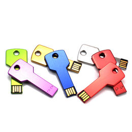 Promotion key-shaped USB flash disk, high quality,100% pass H2 test,1 year warranty from Memorising Tech Limited