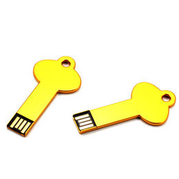 Gold Special Key-shaped USB Flash Drive from Memorising Tech Limited