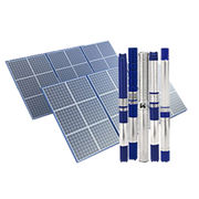 3W Solar Submersible Pumps from India