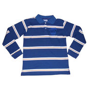 Boy's Long Sleve Polo Shirt from China (mainland)
