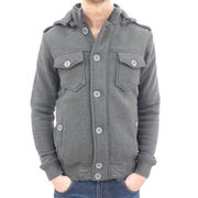 Men's Hooded Fleece Jacket from China (mainland)