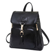 Daypacks, PU leather, with high-capacity big pocket buckle shoulder styles, strong handle from Iris Fashion Accessories Co.Ltd