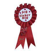 Make Award Print Ribbon Rosette from China (mainland)