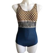 Women's One-piece swimwear Top from China (mainland)