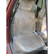 Disposable Plastic Car Seat Cover Set from China (mainland)