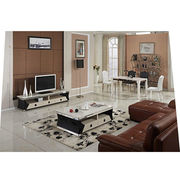 Hot sale Modern Tempered glass coffee table from China (mainland)