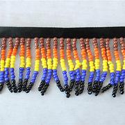 Handmade beaded ribbon trim from China (mainland)