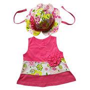 Girls' sleeveless dresses from China (mainland)