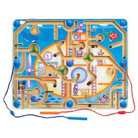 Wooden children's play maze