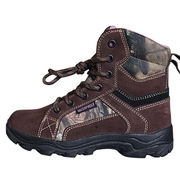 Men's rugged hunting boots from China (mainland)