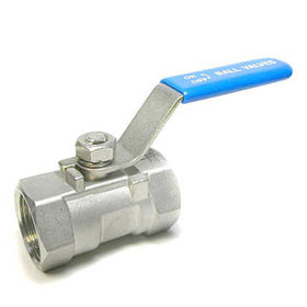 1-piece Stainless Steel Threaded End Ball Valve from China (mainland)