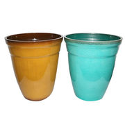 Garden plant pots from China (mainland)
