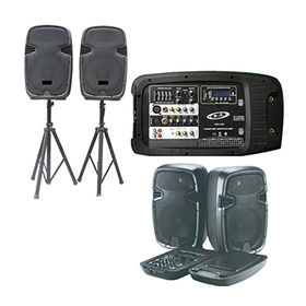 Complete Professional Complete PA System 4 Ch from China (mainland)