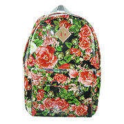 Daypacks, PU Europe styles with metal logo and strong handle for women, OEM, ODM are welcome from Iris Fashion Accessories Co.Ltd