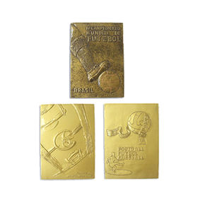 Gold Football Award Refrigerator Magnet from China (mainland)