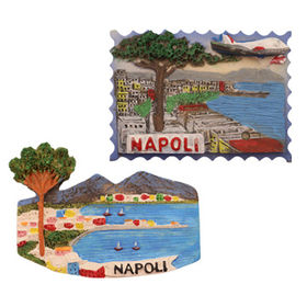3D Napoli City Refrigerator Magnets from China (mainland)