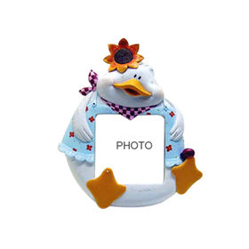 China Resin Cartoon Duck Photo Frame