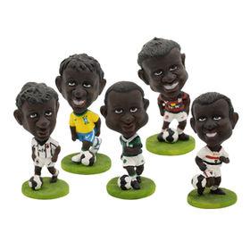 China La resina divertida Bobble la cabeza con las estatuillas/para de los futbolistas los regalos promocionales