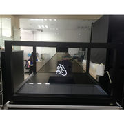 China 3D Holographic Pyramid Display Showcase 360