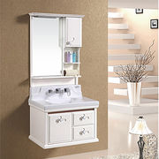 Free Standing Bathroom Cabinet PVC from China (mainland)