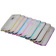 TPU+electroplate PC bumper back cover case from China (mainland)