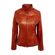 Leather jacket from Indonesia