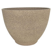 Simple design outdoor bowl decorative planter pot from China (mainland)