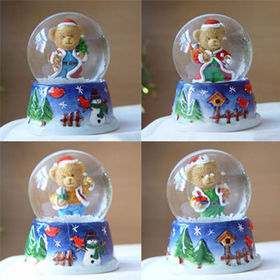 Lovely Bear Snow Globe from China (mainland)