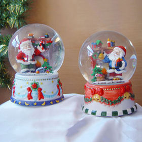 80mm Polyresin Water Globe from China (mainland)