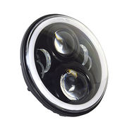 "Round 7"" LED Headlight Running Light from China (mainland)"
