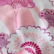Flannel fleece fabric for pajamas blankets from China (mainland)