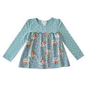 Girls' long-sleeved T-shirt from China (mainland)