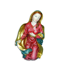 Madonna Virgin Mary Statue 5.5-inch Resin Face Manufacturer