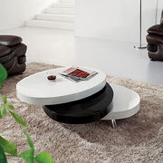 New modern rotatable coffee table from China (mainland)