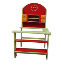 Role play toy wooden supermarket shelf from China (mainland)