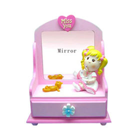 Resin Pretty Baby girl miss you Jewellery Box Quanzhou Leader Gifts Co. Ltd